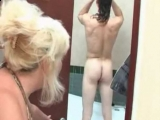 Slutty GF Mom Spying me While Showering