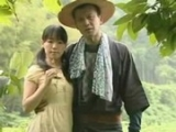 Chinese Old Man took Young Girl to help him in Field