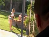Spying hot Neighbors Daughter From the Balcony