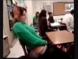 Teen Gets Caught Touching Herself On Class