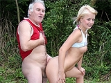 Older Guy Found Naked Teen Resting In The Forest