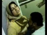 Horny Arab Couple Fucking In The Public Toilet