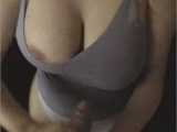 I Was Cumming Like Crazy On Awesome Juicy Milf Tits