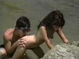 Amateur Asian Couple Having Hot Sex In The Lake