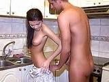 My Brothers Forbidden Young Girlfriend Seduced Me After Bathing