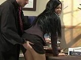 Hot Ass Assistant Roughly Punished By Dirty Judge