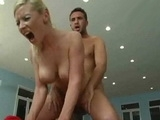 Busty Blonde Gets Banged Hard From Behind