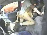 Horny Amateur Couple Fucking In The Car