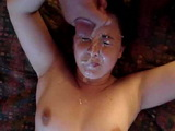 Innocent Teen Gets Her First Facial Load