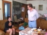 Young Girl Fucks Dirty Old Man For A Place To Live
