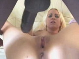 Blonde Babe Gets Fucked Hard By Horny Black Stud