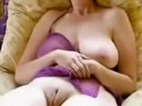 Mommy Is Horny For Hard Cock Between Her Big Wet Pussy Lips