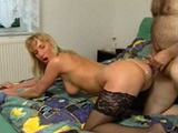 Hot Mature Slut In Stockings Gets Fucked Doggystyle