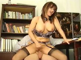 Big Boobed Babe Enjoy Riding A Hard Cock On Camera