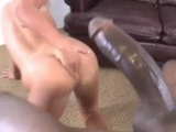 Curious Blonde Wanted To Try A Monster Black Cock