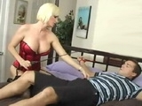 Slutty Blonde Milf Fucked Her Younger Neighbor