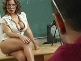 Big Boobed Milf Teacher Seduced Her Student