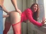 Stunning Redhead Babe Gets Fucked Hard