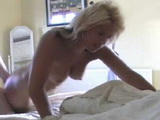 Busty Blonde Milf Babe Gets A Quickie In The Bedroom