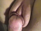 Bald Pussy With Huge Lips Getting Fucked Hard