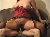 Big Boobed Wife Sucks And Rides A Hard Dick
