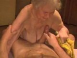 Dirty Granny Whore In Fucking Action