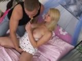 Teen Blonde Couldnt Wait To Get Her Pussy Stuffed With