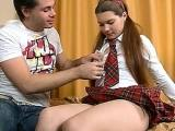 Hot Teen Is Real Cock Addicted Bitch