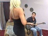 Girlfriends Mom Loves When I Play the Guitar For Her