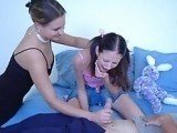 Mom Forcing Daughter To Fuck Her New Lover