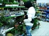 Picking Up The Flower Store Whore