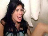 1st time Anal makes her Scream Bloody Murder