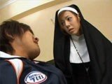 Asian Nun Makes Her First Sin