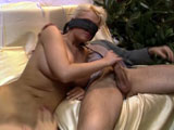 Blindfolded Woman Though It Was Her Husbands Cock