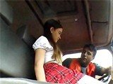 Innocent Schoolgirl Will Pay The Price For Having A Ride With Stranger!