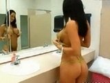 Lucky Guy Tapes His Sexy Friends Sister In the Bathroom