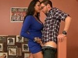 Horny Mom Gave Boy Awesome Ass Fucking Lesson