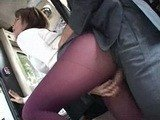 Sexy MILF Grabbed and Fucked In Public Bus