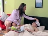 Damn Hot Milf Knows How To Heal Boy's Fever
